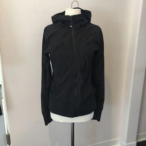 Lululemon rare reversible black zip up hoodie EUC